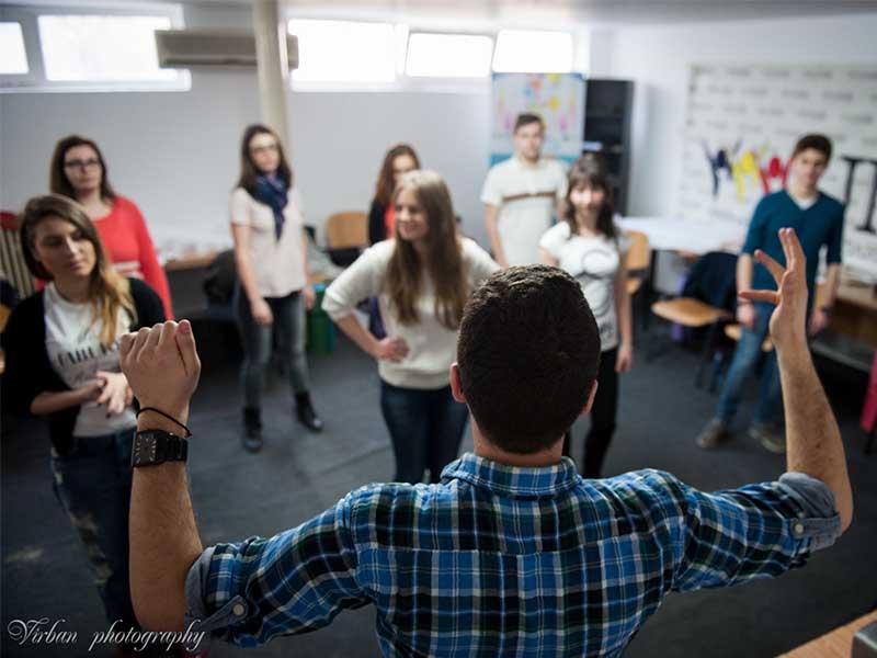 lectii de leadership, dans, curs