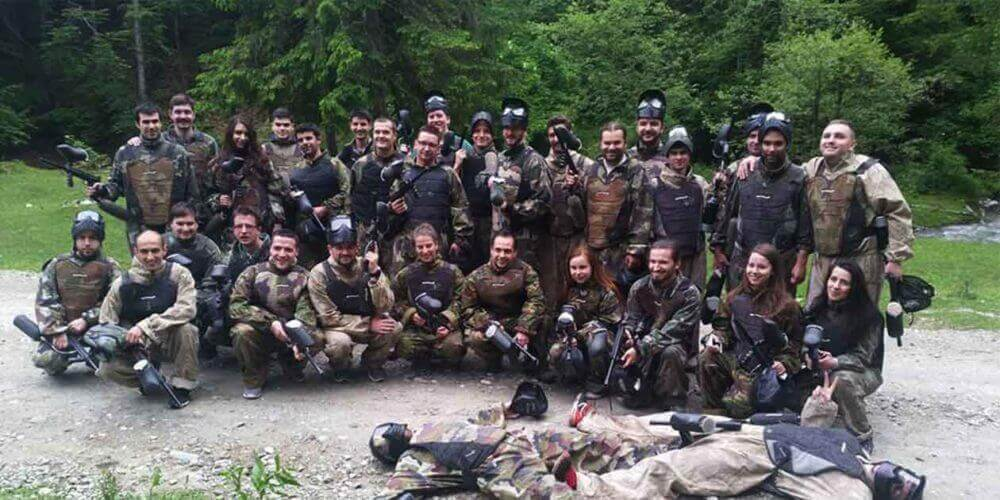 teambuilding paintball imagine rezerva